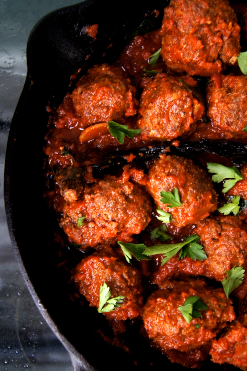 cumin-spiced meatballs