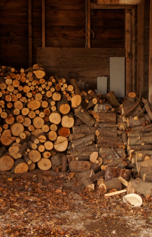 sweet smell of firewood