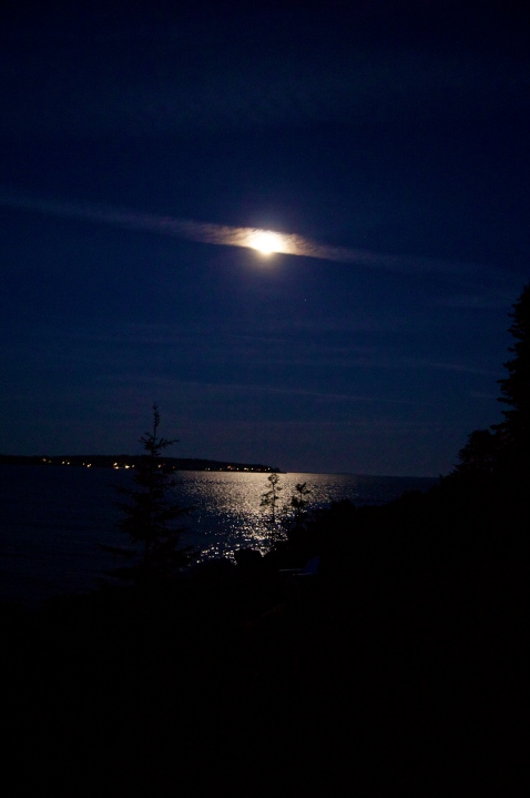 that moon!