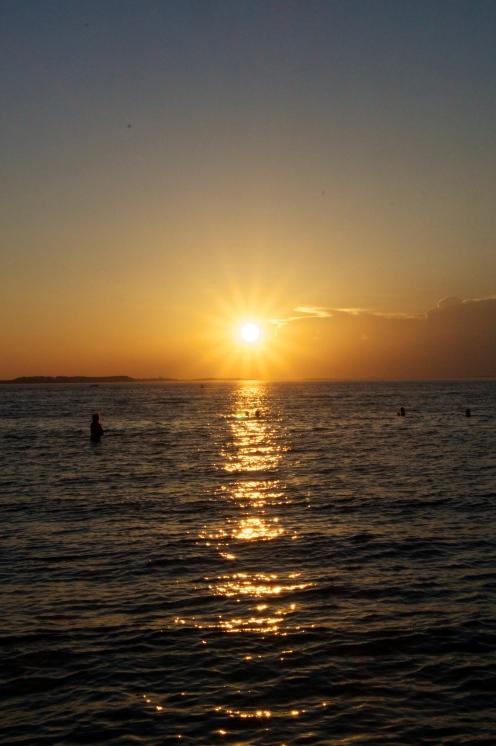a sunset in Annisquam