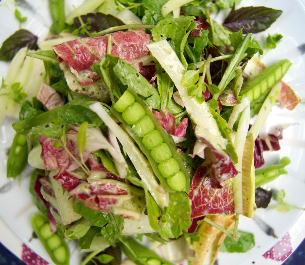 caitlin's salad greens