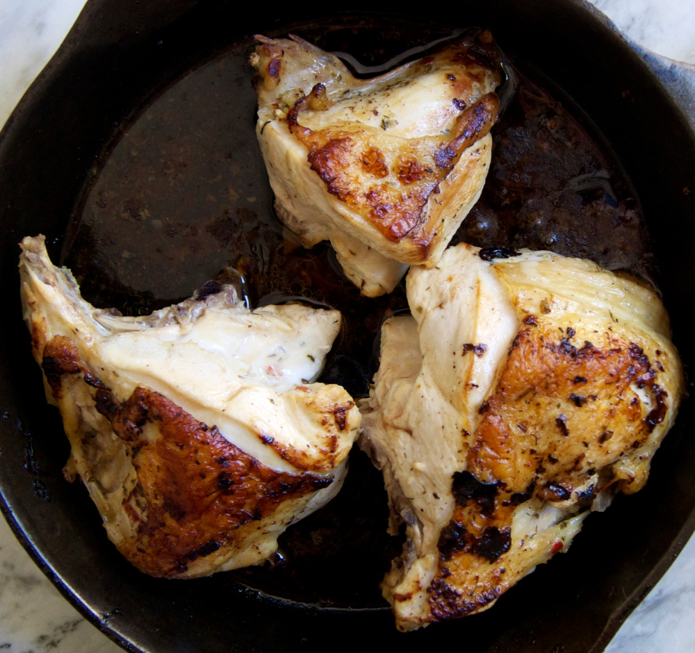 pickle-brined chicken!