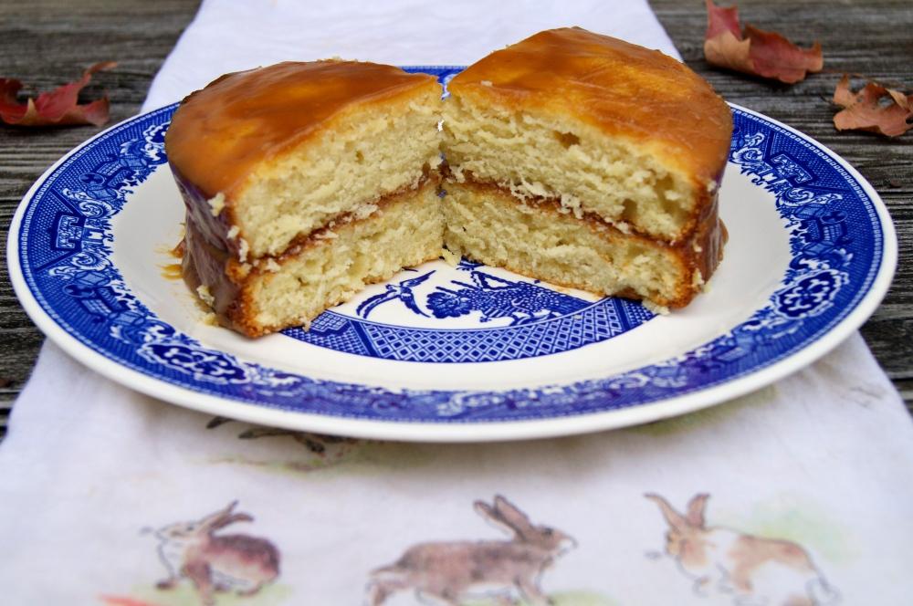 salted-caramel cake