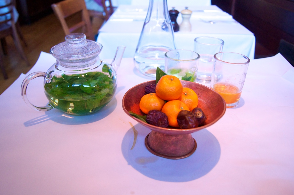 kishu tangerines and bahri dates at chez panisse