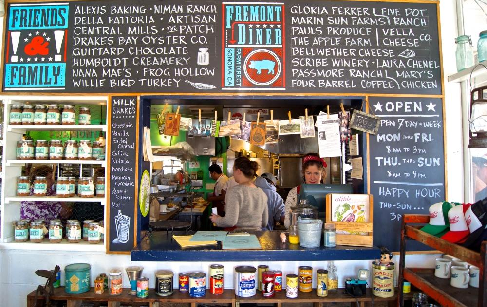 Fremont Diner, Sonoma