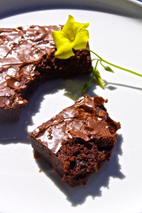 yummy yummy brownies.