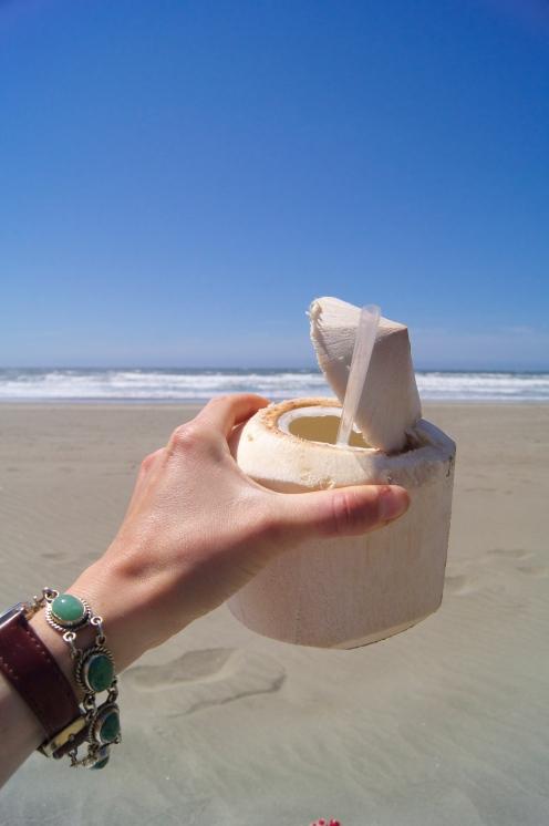 coconut beach time!